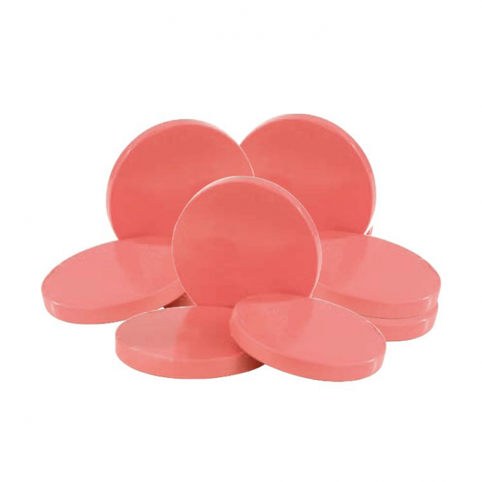 Cire traditionnelle en disques - Rose extra