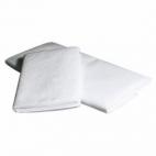 Serviette de bain papier gaufré pliée - 100x200 cm