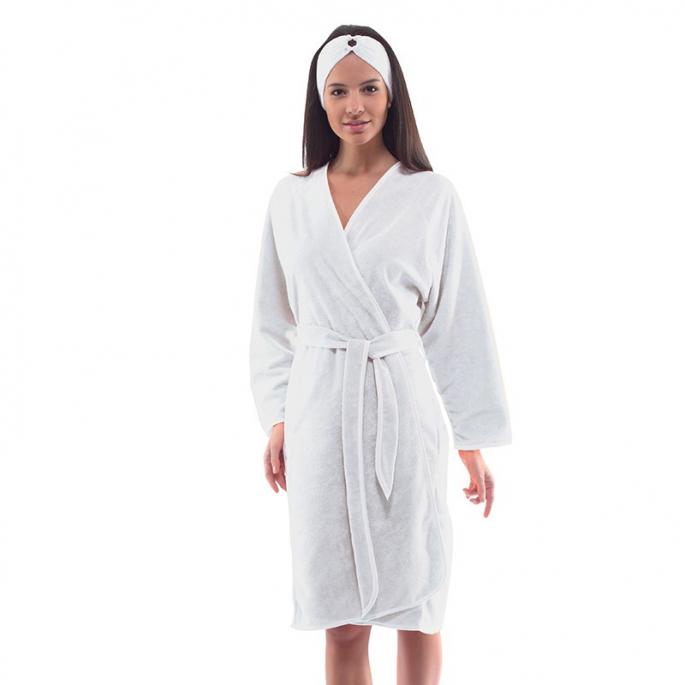 Kimono Eponge - Blanc